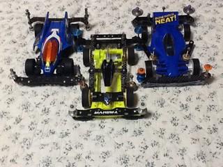 3台のメインマシン