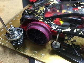 5号機 SXX EVO 改2 大径タイヤ換装