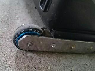 ポータブルピット 改造 タイヤ
