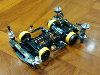 my first TZ Chassis. not bad.