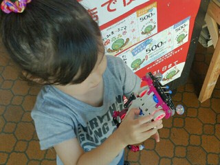 3歳娘のスイッチトレーニング!