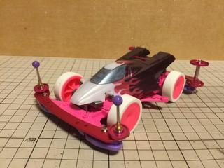 ファイヤードラゴン(紫の炎)