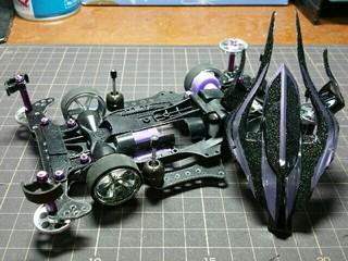 AR強化シャーシ【Black&Violet】☆