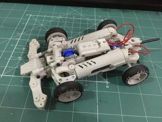 3Dprinter mini 4WD