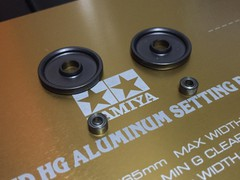 19mmオールアルミベアリングローラー 陽極製成