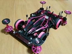 NEW VSシャーシ【Black&Pink】☆