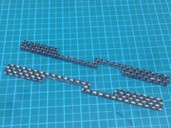 カーボンマルチ補強プレート(2mm金ラメ)