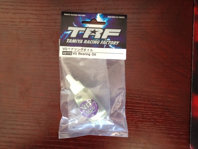 TAMIYA TRF VG bearing oil
