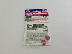 13mm オールアルミベアリングローラー (レッド)