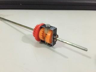 马达壳改造的差速器