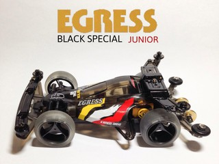 Egress Junior Black Special