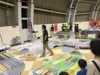富士通乾電池提供 ミニ四駆ジャパンカップ2015 大阪大会1
