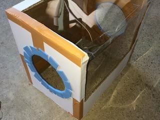 自作ミニルーター作業用ボックス