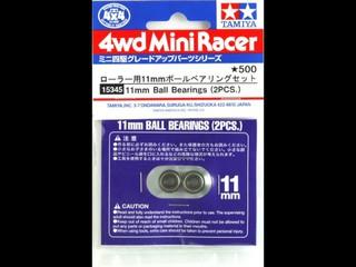 ローラー用11mmボールベアリングセット