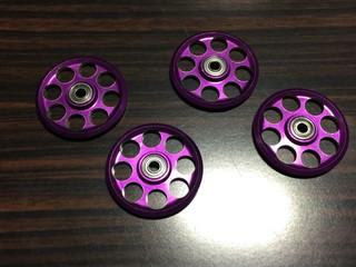 ムラムラ紫ローラー^_−☆