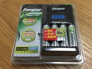 Energizer 一時間チャージャー