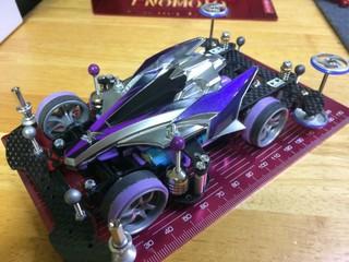 ボテッと紫銀アバンテ