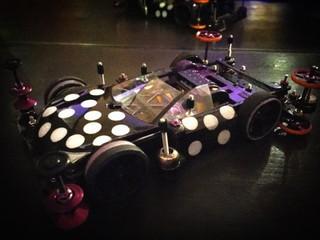 公式車・3レーン用マシンTRF