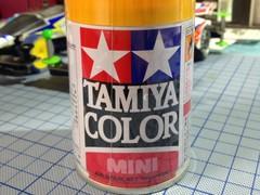 タミヤスプレーTS-56 ブリリアントオレンジ