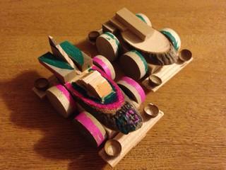 木工シューティングプラウドスターとエアロマンタレイ