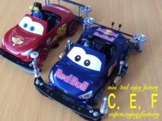 2代目ライトニング・マックイーン Red Bull Ver.
