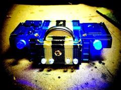 ダンプ用ボタン電池式前照灯