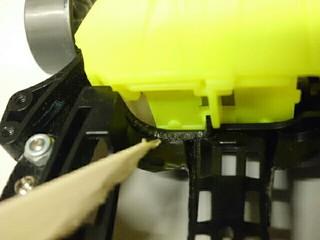 FMAR電池ケース加工部分