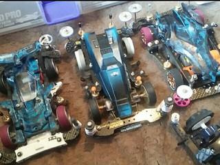 青いマシン達!