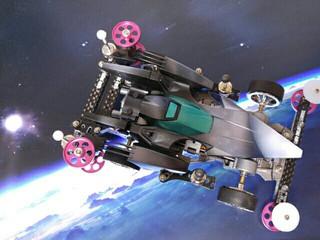 月面探査ミニ四駆「MOON STALKER」