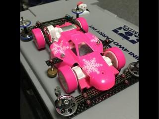 ピンクS2  アスチュートのクリアボディ