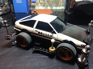 Toyota AE86 mini4WD by Mr.T
