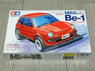 NISSAN Be-1 赤 タイプ3シャーシ