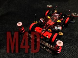 M4D仕様3レーン完成!