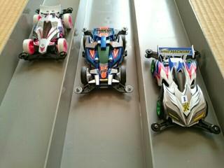 3姉妹マシンボディ完成!