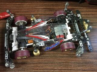 3レーン立体S2アバンテ試作車