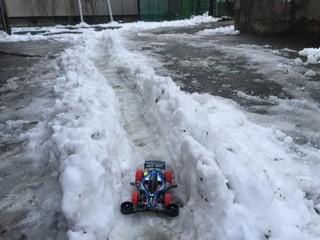 雪四駆やってみた‼︎