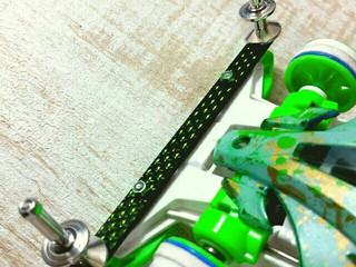 緑ラメとビッカビカの13mm