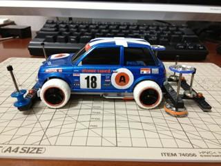 miniレーシングライクなBe-1