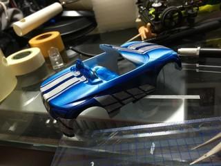 Custom spray inspired Paul Walker car