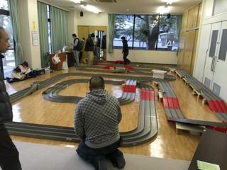 福岡ホビープラザさん主催  牛頸公民館レース