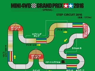 スプリンググランプリ2016レイアウト