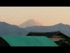 夕焼け富士山!