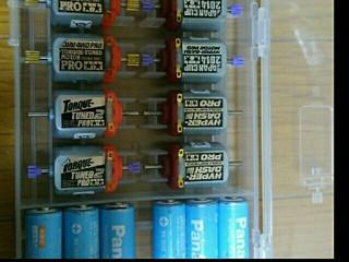 電池&モーターケース