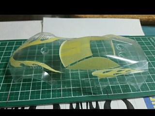 4D-Racing No3用 トルクルーザーボディー完成♪