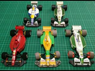 Mini F1 Retro Cars