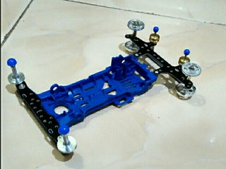 S2 chassis blue