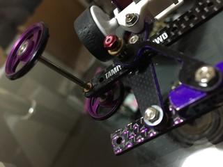 紫ラメカーボンw