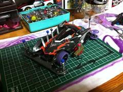 頂いたマシンをs2にして作り直した。サイドスクエア