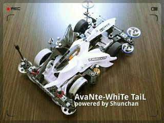 AvaNte-WhiTe TaiL