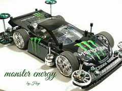 TRF Works jr  monster energy